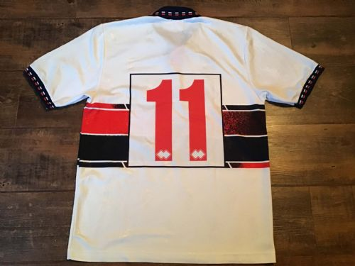 1994 1995 Genoa No 11 Away Football Shirt Large